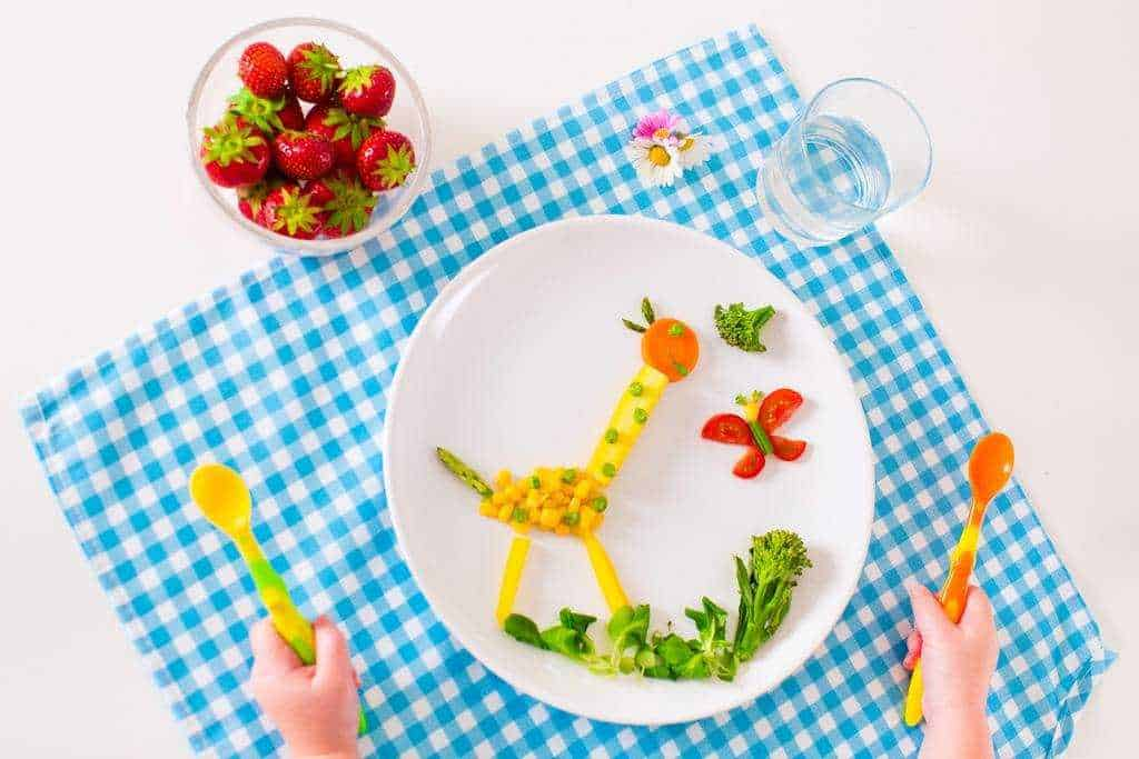 how to encourage children to eat healthy food!