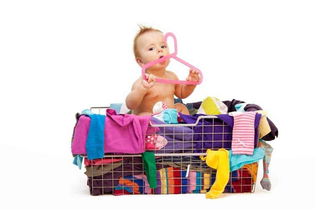 what materials make natural baby clothes?