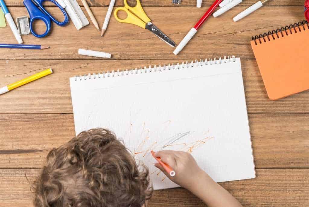 How do I encourage my child to draw?