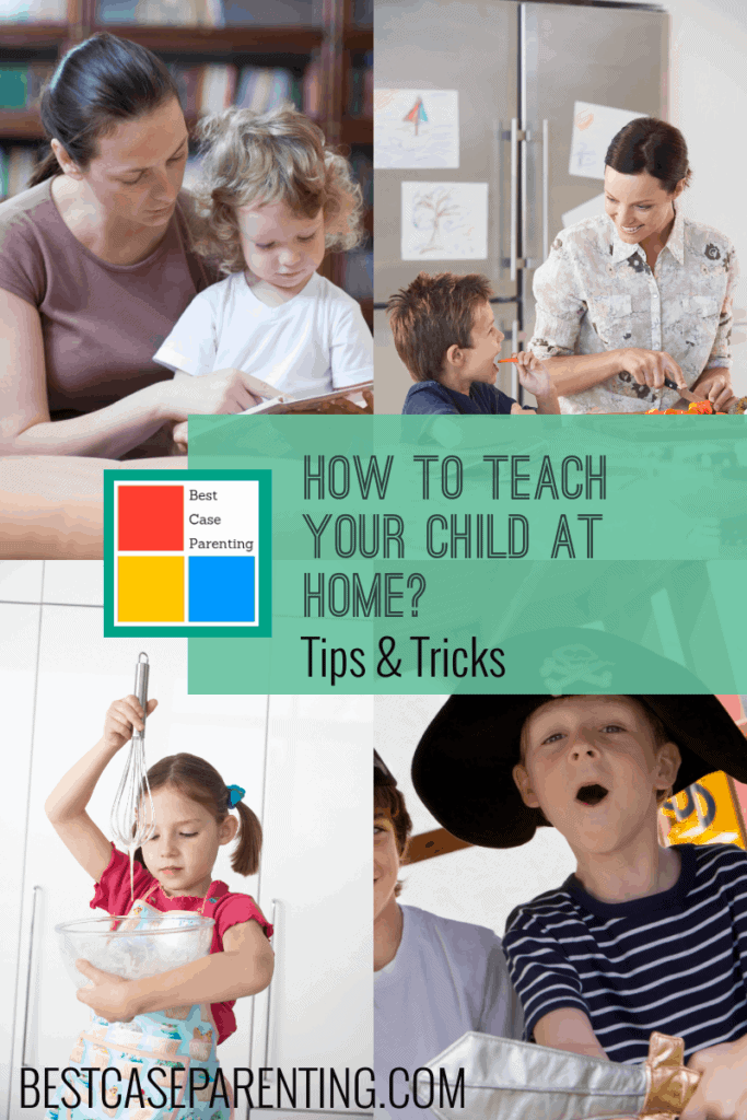 tips for teaching a child at home.