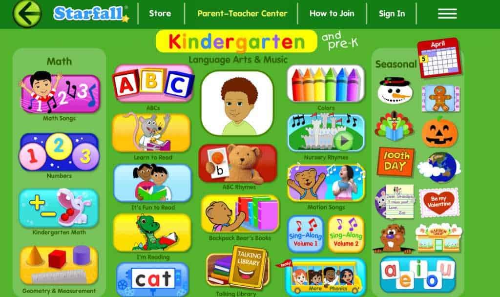 is starfall a good app for teaching reading?