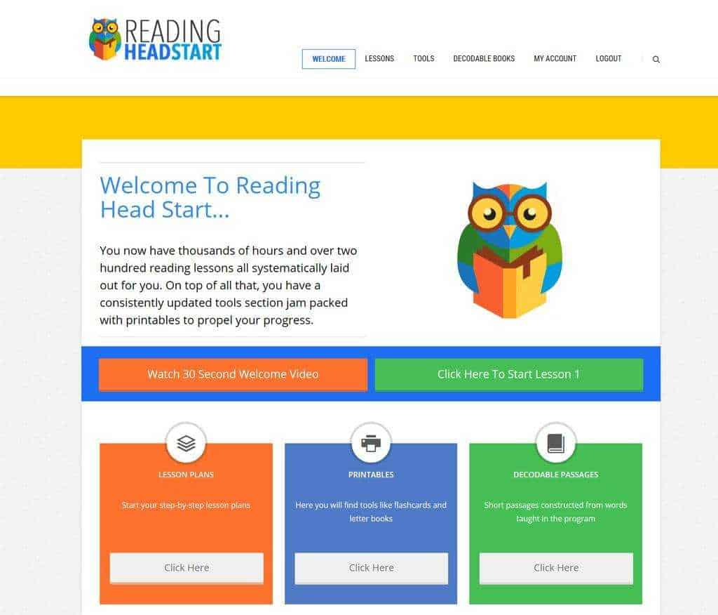 reading headstart review