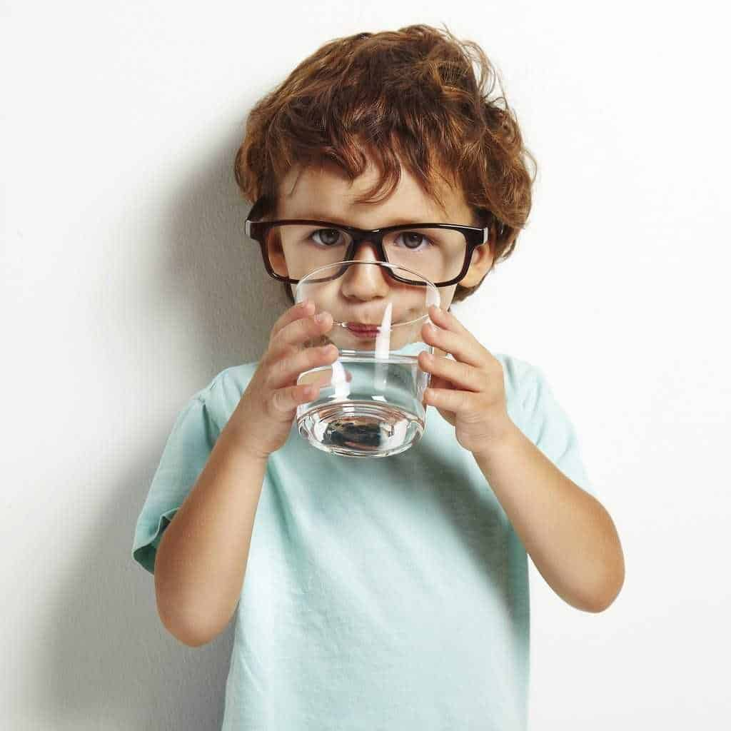 What happens if a child doesn't drink enough water?
