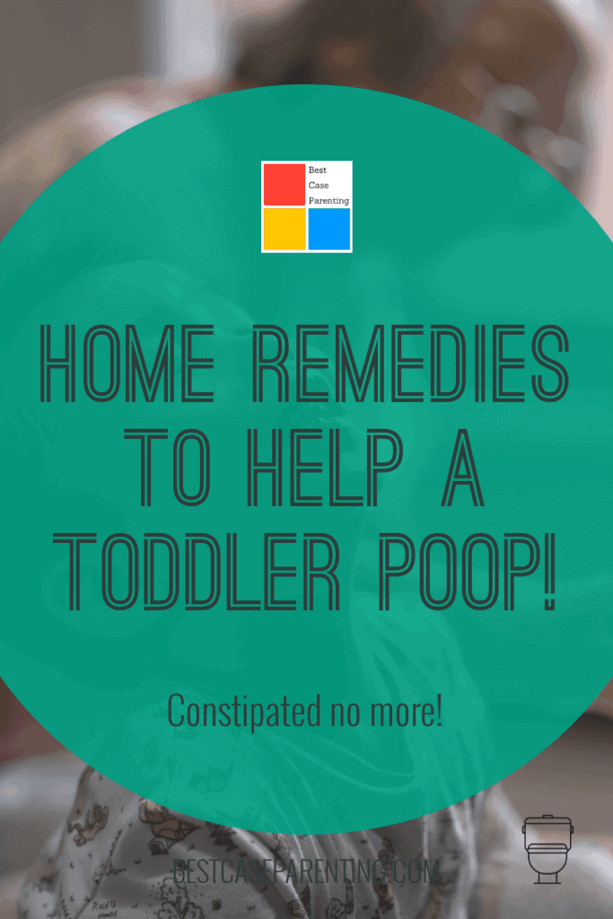What helps constipation fast for toddlers?