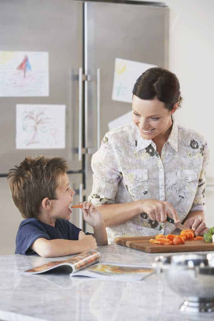 cooking is a great way to teach your child about material change.